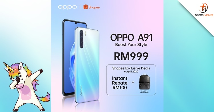 OPPO Malaysia will release a new Unicorn White A91 variant soon
