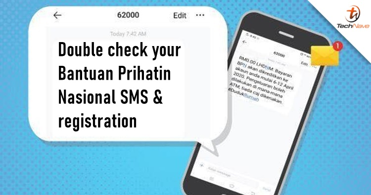 The Bantuan Prihatin Nasional payment starts today, here's how to check your SMS is not a scam
