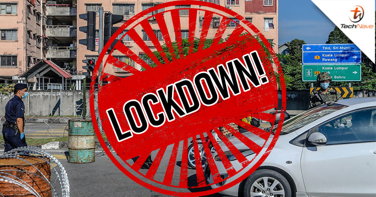 The areas around Kuala Lumpur wholesale market in Selayang are now on lockdown until 3 May!