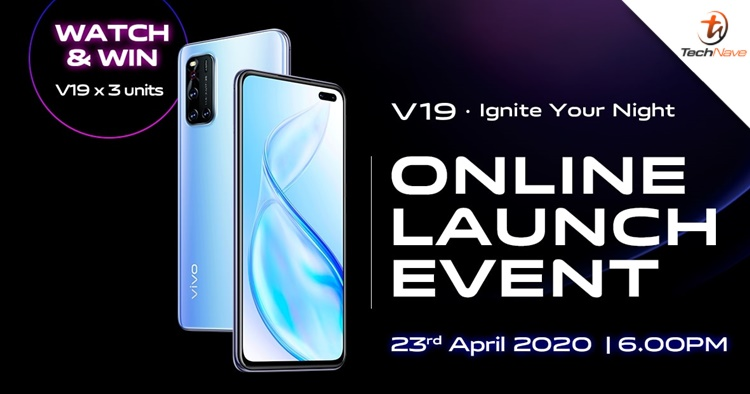 Watch and win a vivo V19 when the phone launches in Malaysia on 23 April 2020