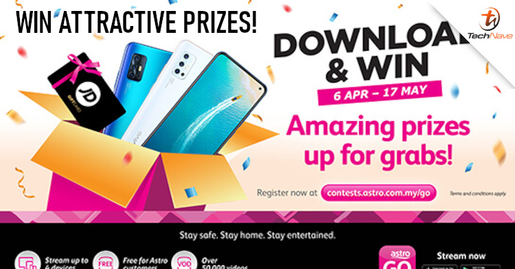 Stand a chance to win a vivo V17 Pro with Astro GO