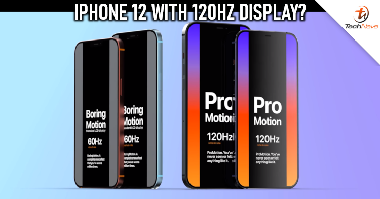 5G 'iPhone 12 Pro' may feature 120Hz ProMotion display