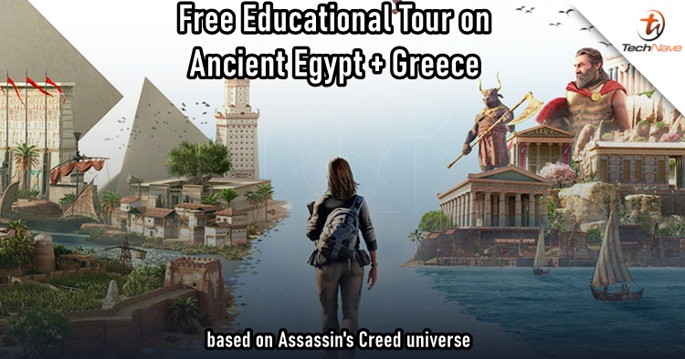 Get the Assassin's Creed Discovery Tours free on Uplay Right Now
