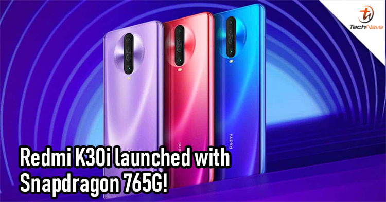 Xiaomi launched the Redmi K30i 5G quietly with Snapdragon 765 and 120Hz refresh rate display