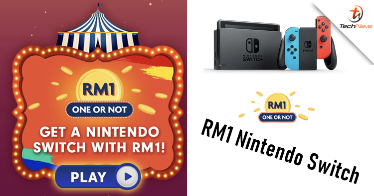 There's a RM1 Nintendo Switch on Shopee's 6.6 Super Sale and it starts tomorrow