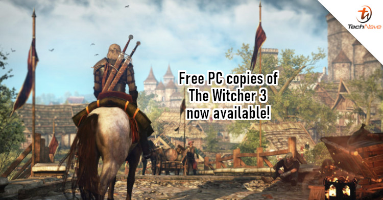 CD Projekt Red giving away free GOG copy of The Witcher 3 but there's a catch