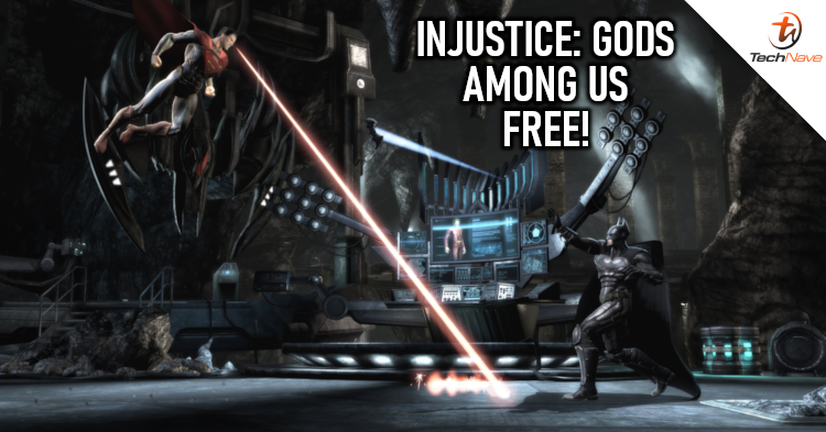 You can claim Injustice: Gods Among Us for free on Steam, PlayStation, and Xbox