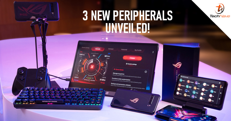 ASUS unveiled 3 new peripherals during the ROG Phone 3 launch including the ROG Falchion, ROG Cetra RGB, and ROG Strix XG16
