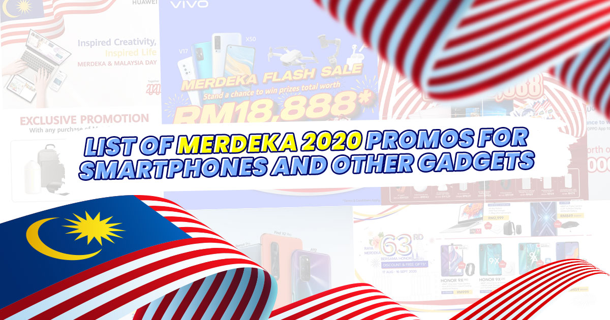 List of Merdeka 2020 promos for smartphones and other gadgets