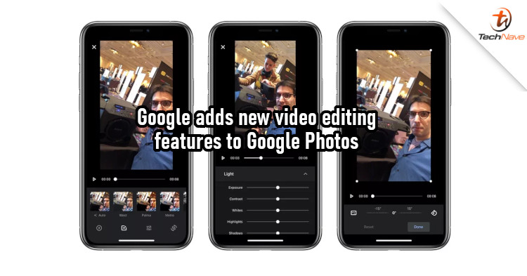 Google Photos for iOS now supports new features for video editing