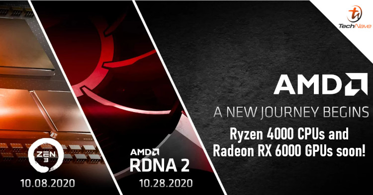 AMD is launching Zen 3 CPUs and RDNA 2 GPUs in October