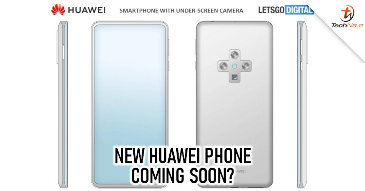 Huawei working on a smartphone with in-display camera and periscope zoom camera based on leaked patent