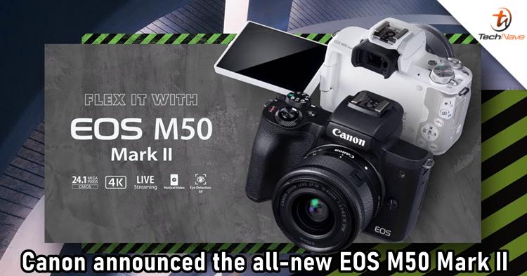 Canon's EOS M50 Mark II mirrorless camera is aimed at creators