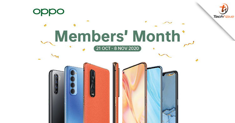 OPPO Malaysia is giving out 2x reward points and free gifts worth up to RM99
