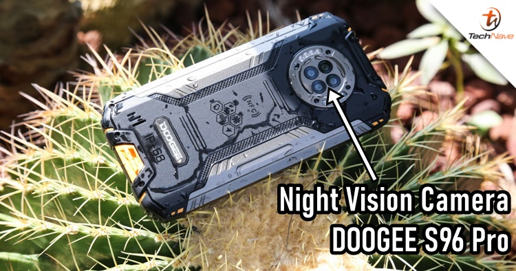 "Doogee has a new S96 Pro smartphone that can take ""Night Vision"" photos"