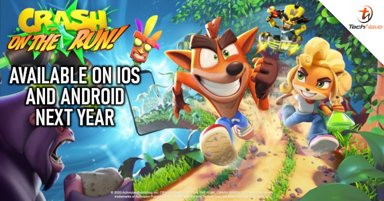 New Crash Bandicoot game launching on Android and iOS devices next year