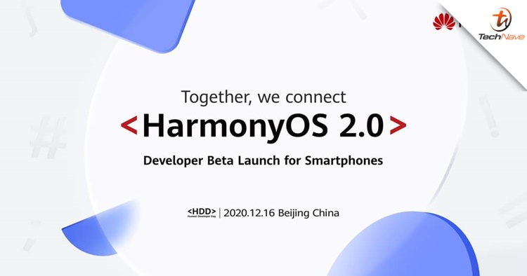 HarmonyOS 2.0 public beta test is now available on the Huawei P40 and Mate 30 series