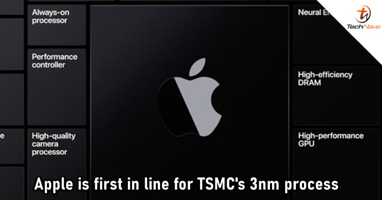 Apple first to contract TSMC's initial 3nm production capacity