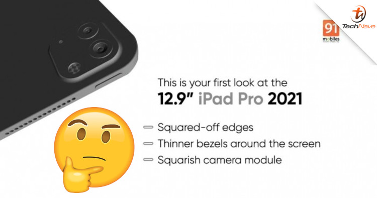 Is this the new design of the 2021 iPad Pro refresh?