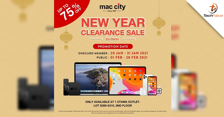 Mac City at 1 Utama sale will offer MacBook Air as low as RM999 and more