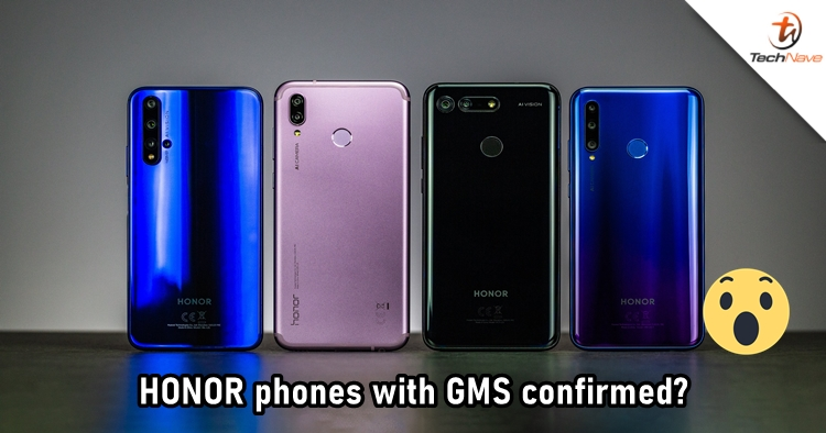Reputable source claims that HONOR is working on phones with Google Mobile Services