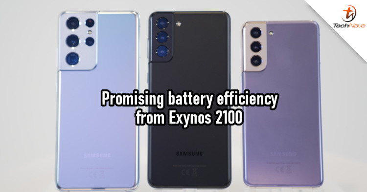 Exynos 2100 chipset shows good battery performance on Galaxy S21 Ultra
