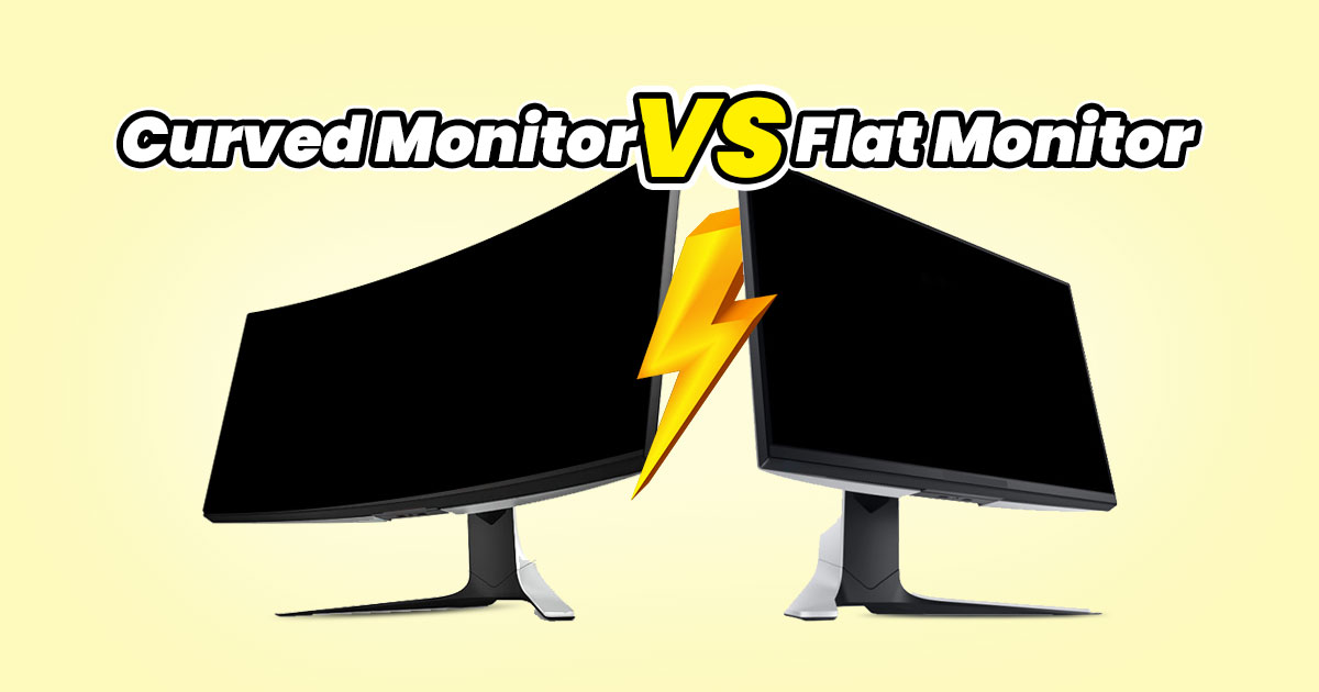 Should you get a flat or curved screen monitor?