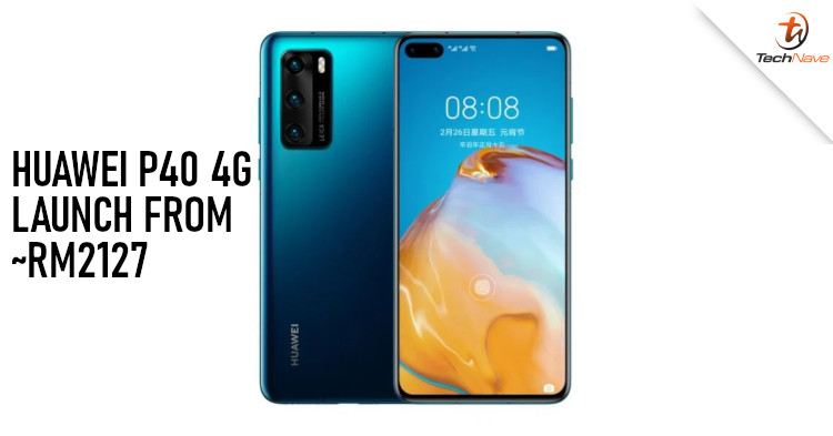 Huawei P40 4G release: Kirin 990 4G chipset and 50MP SuperSensing camera at ~RM2127