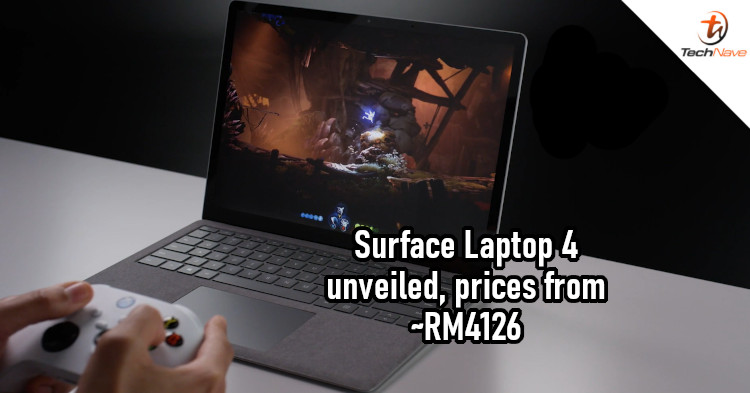 Microsoft Surface Laptop 4 release: Next-gen CPUs, studio mics, and Omnisonic speakers from ~RM4126