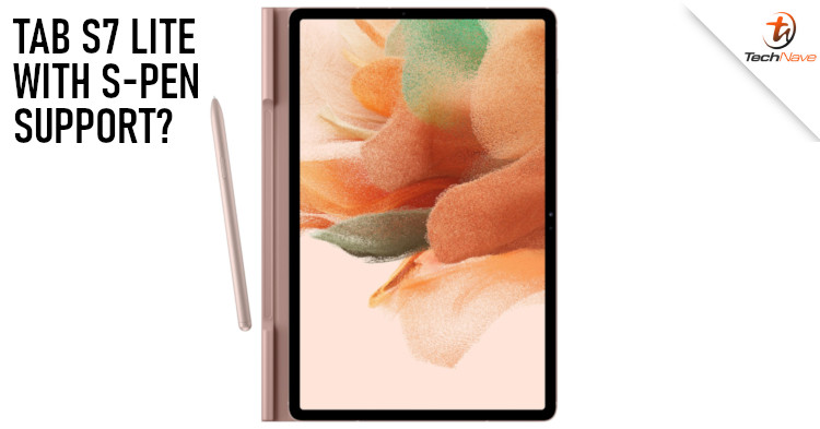 Samsung Galaxy Tab S7 Lite 5G leaked renders hints S-Pen support alongside protective case