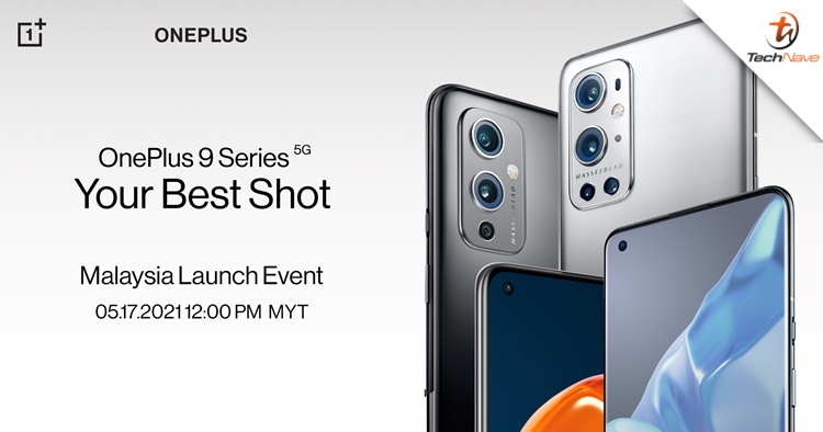 The OnePlus 9 series will launch in Malaysia on 17 May 2021