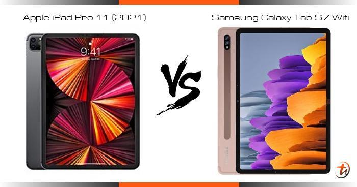 Compare Apple iPad Pro 11 (2021) vs Samsung Galaxy Tab S7 ...